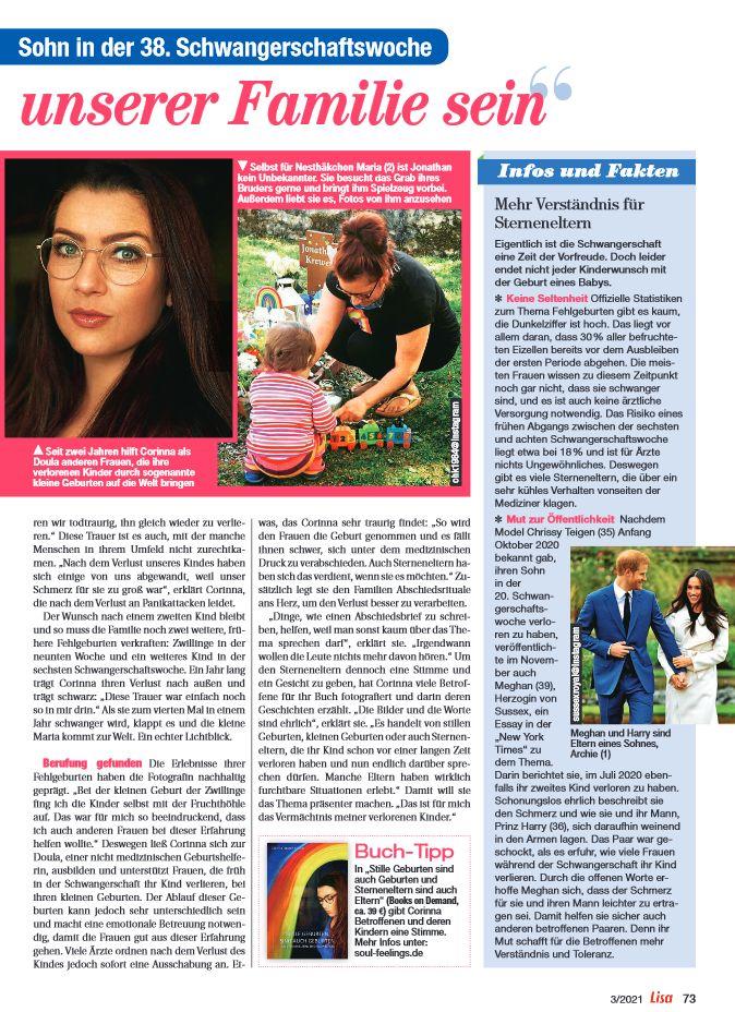 Interview Zeitschrift LISA